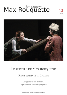 Cahiers Max Rouquette n°13