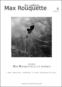 cahiers Max Rouquette 2010
