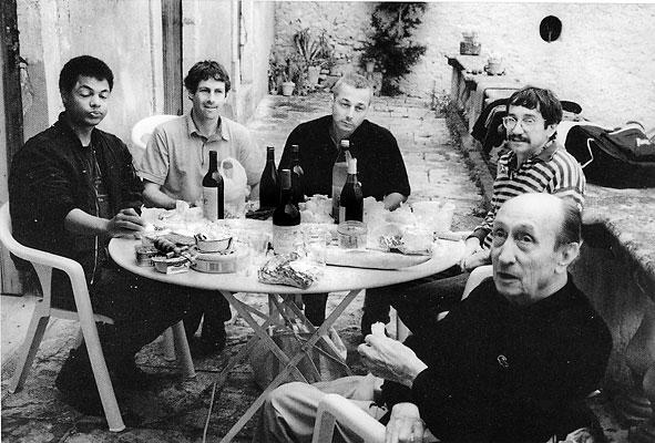 Saint-Saturnin, avec de jeunes écrivains d'oc, 1993