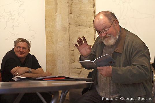 07/03/08. Montpellier, salle St Ravy. J-F Brun et J-M Petit