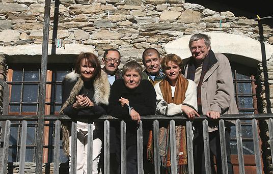 Elisabeth Brun, JG Rouquette, Inès, Roland Pécout, Gianna, JF Brun