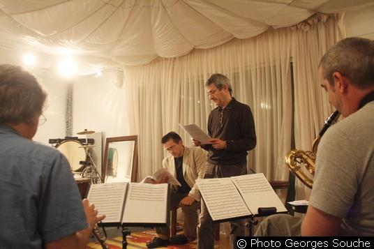 Lundi 16/06. L.Audemard, J.Aymonino, J-F.Tisnèr, François Fava