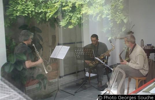 Mardi 17/06. Répétition des instruments à vent.