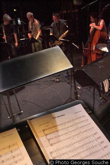 Mercredi 18/06, Opéra. Première répétition in situ.