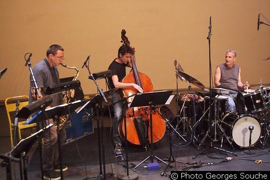 Mercredi 18/06. Une petite récréation jazz pendant la pause.